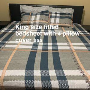 Bedsheets and comfort set